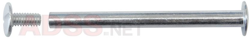 2-1/4&quot; Aluminum Screw Posts <font color=177ddd><b>(100 Sets)</b></font>