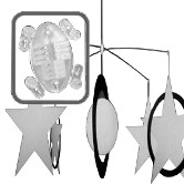 4-armed Mobile Hanger <span style=&quot;color: #177ddd; font-weight: bold;&quot;>(10 Sets)</span>