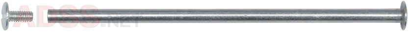 6&quot; Aluminum Screw Posts <font color=177ddd><b>(100 Sets)</b></font>