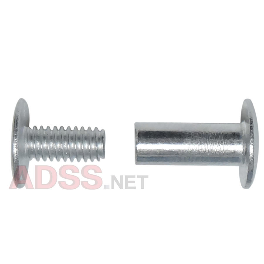 "1/2"" Aluminum Screw Posts <font color=177ddd><b>(100 Sets)</b></font>"
