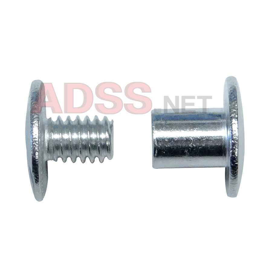 "1/4"" Aluminum Screw Posts <font color=d9821b><b>(20 Sets)</b></font>"