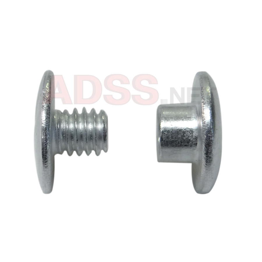 1/8&quot; Aluminum Screw Posts <font color=177ddd><b>(100 Sets)</b></font>