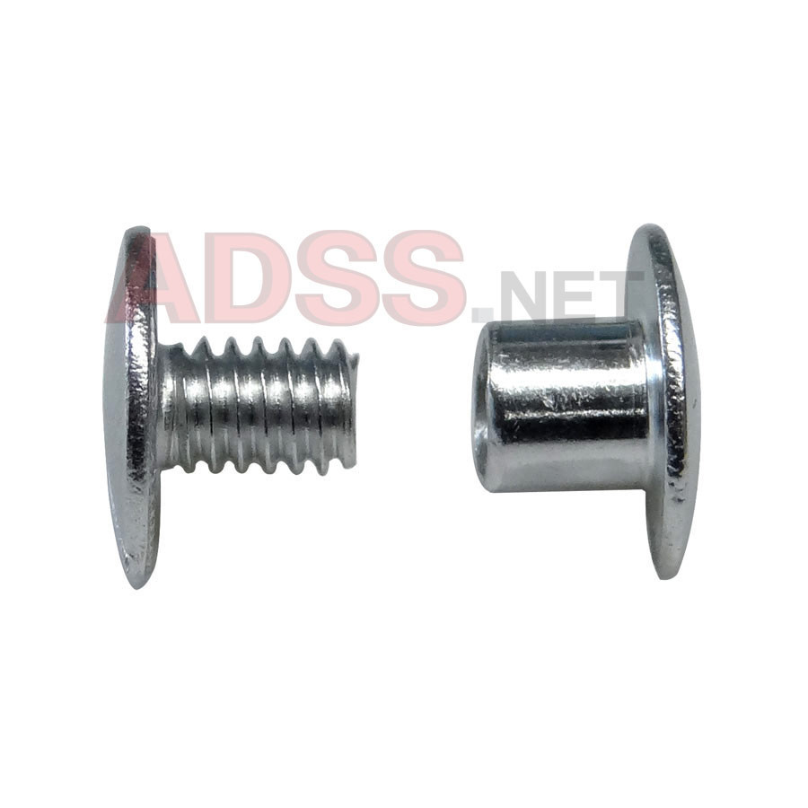 3/16&quot; Aluminum Screw Posts <font color=177ddd><b>(100 Sets)</b></font>