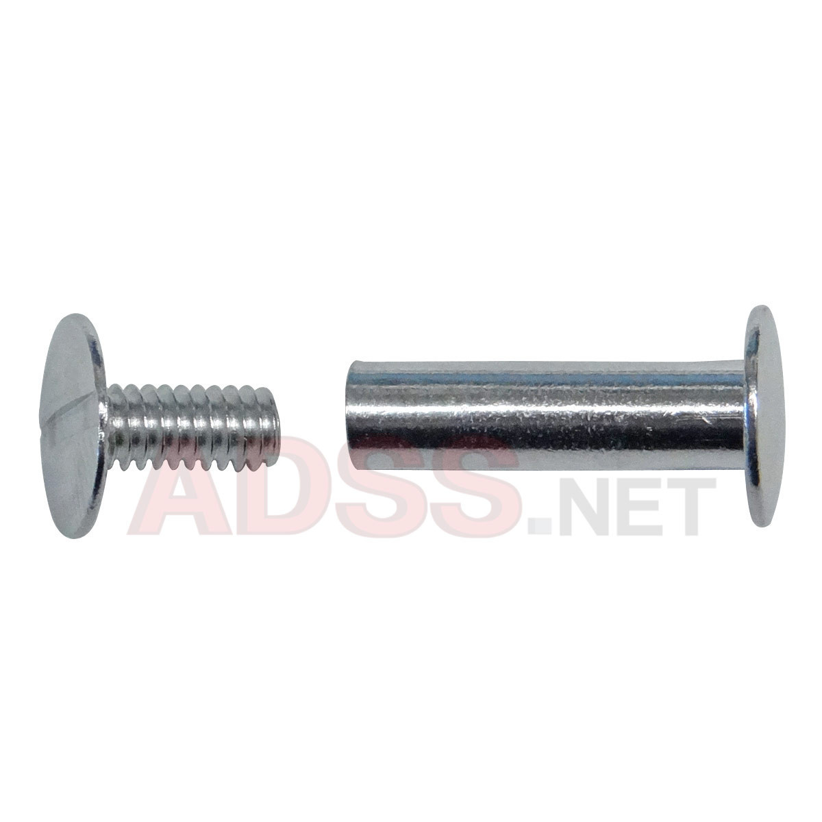 "3/4"" Aluminum Screw Posts <font color=177ddd><b>(100 Sets)</b></font>"