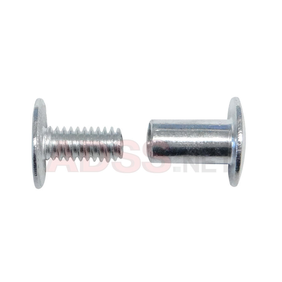 "3/8"" Aluminum Screw Posts <font color=177ddd><b>(100 Sets)</b></font>"