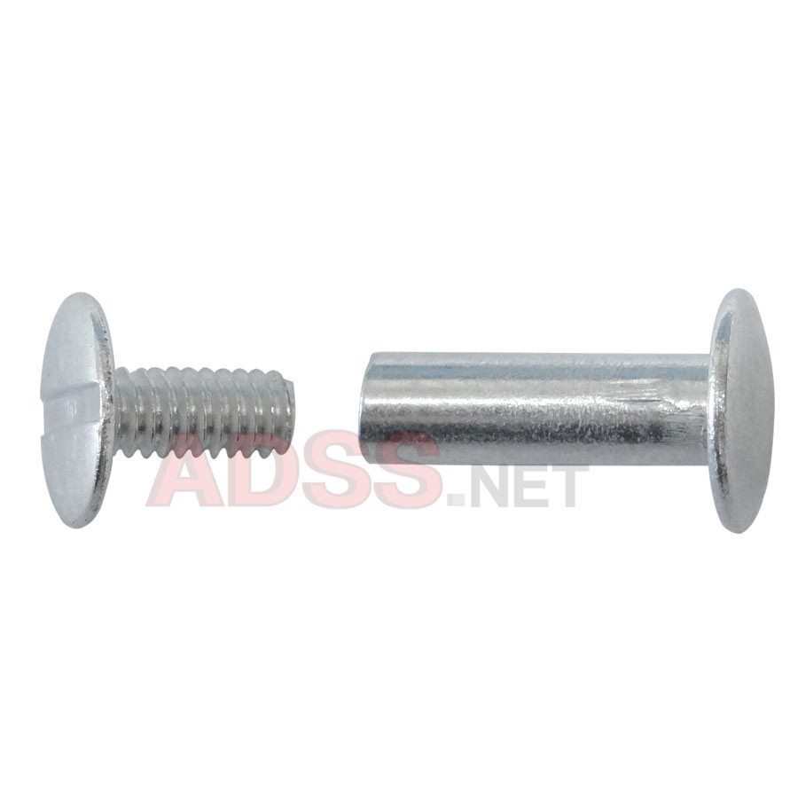"5/8"" Aluminum Screw Posts <font color=177ddd><b>(100 Sets)</b></font>"