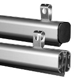 "Aluminum Snap Rail <span style=""color: #177ddd; font-weight: bold;"">(10 Rails)</span>"