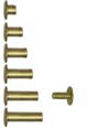 Aluminum Screw Posts in Antique Brass