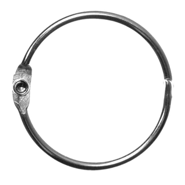 "1/2"" Loose Leaf Rings <font color=177ddd><b>(100 Rings)<b></font>"