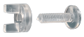 "3/4"" Wing Nut Screws <span style=""color: #177ddd; font-weight: bold;"">(100 Sets)</span>"