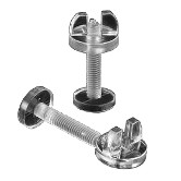 Clear Wing Nut Screws