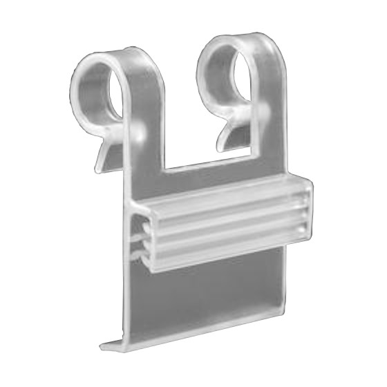 "Finned Wire Basket Clip <span style=""color: #177ddd; font-weight: bold;"">(100/250 Pieces)</span>"